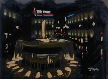 Alberto Perezsan Oil on Wood Barcelona Amsterdam Madrid Milan realism art painting Sketch Tio Pepe