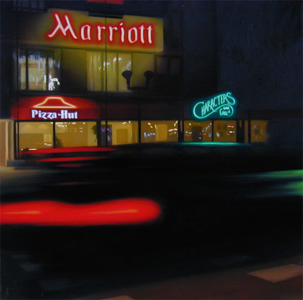 Alberto Perezsan Oil on Wood Barcelona Amsterdam Madrid Milan realism art painting Marriot